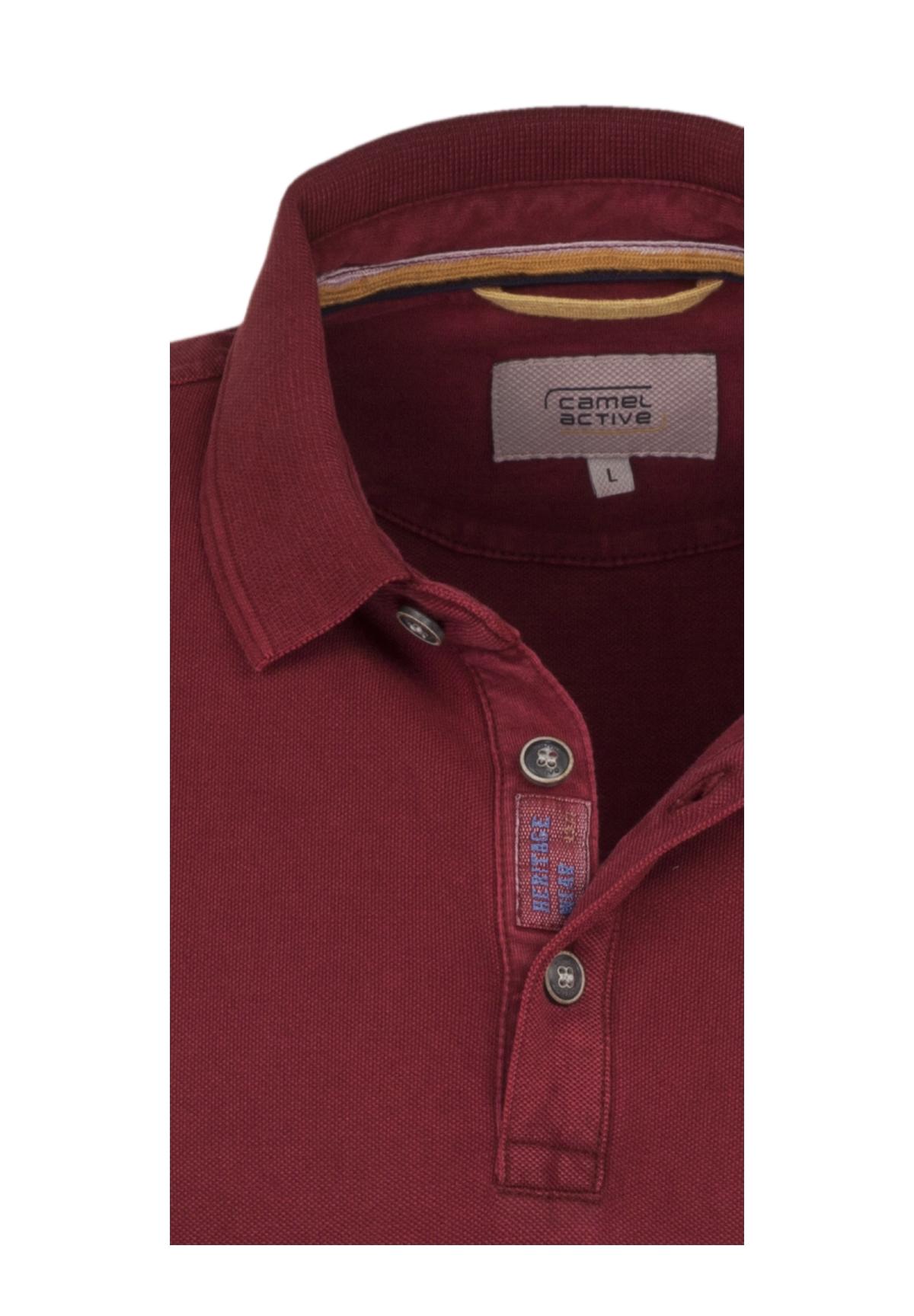 Camel-Active-Herren-Shirt-Poloshirt-Pique-Regular-Fit-NEU Indexbild 54