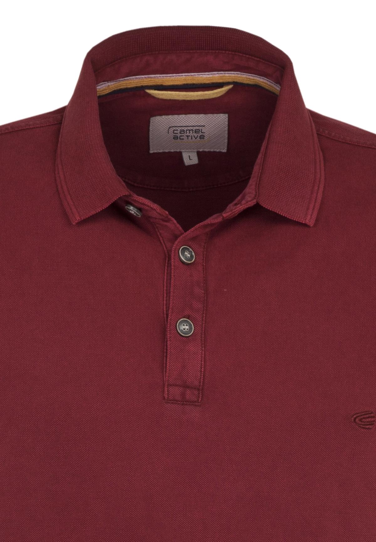 Camel-Active-Herren-Shirt-Poloshirt-Pique-Regular-Fit-NEU Indexbild 55