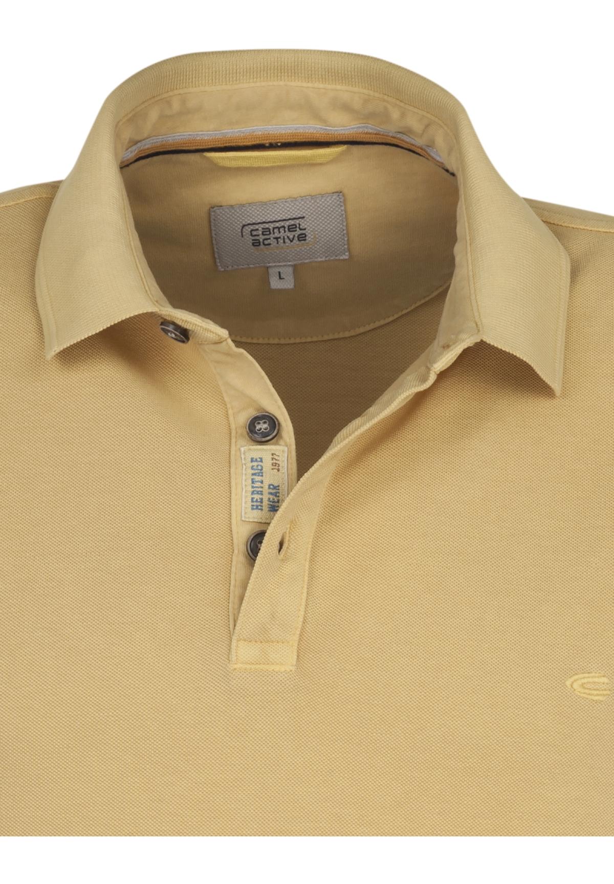 Camel-Active-Herren-Shirt-Poloshirt-Pique-Regular-Fit-NEU Indexbild 74
