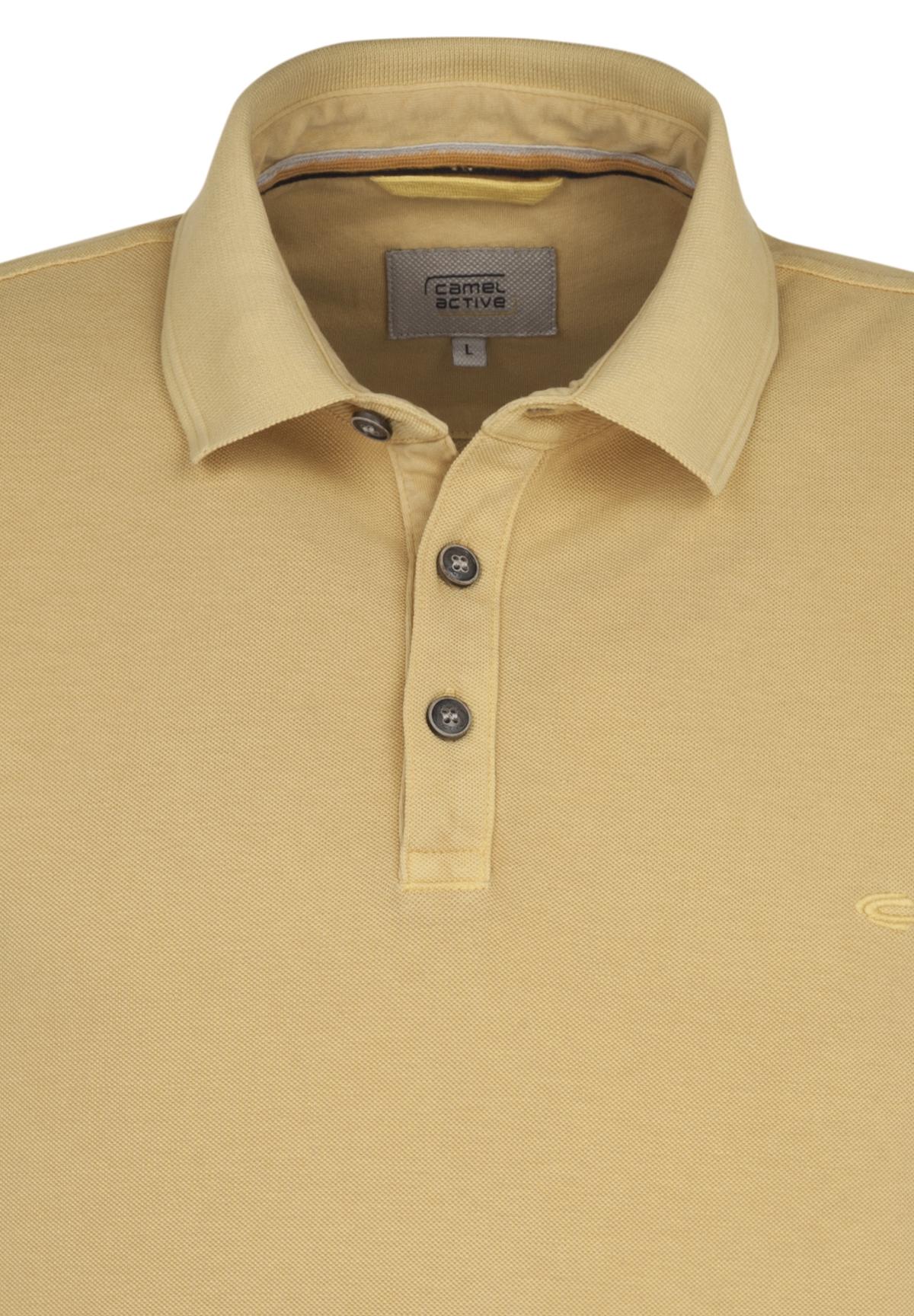 Camel-Active-Herren-Shirt-Poloshirt-Pique-Regular-Fit-NEU Indexbild 75