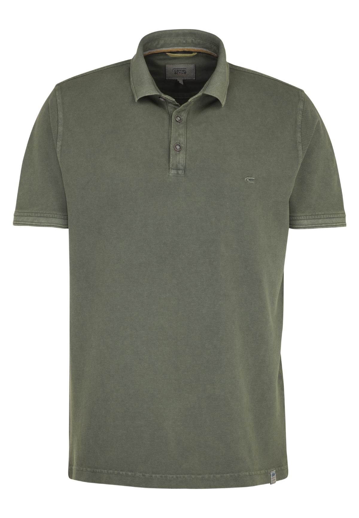 Camel-Active-Herren-Shirt-Poloshirt-Pique-Regular-Fit-NEU Indexbild 77