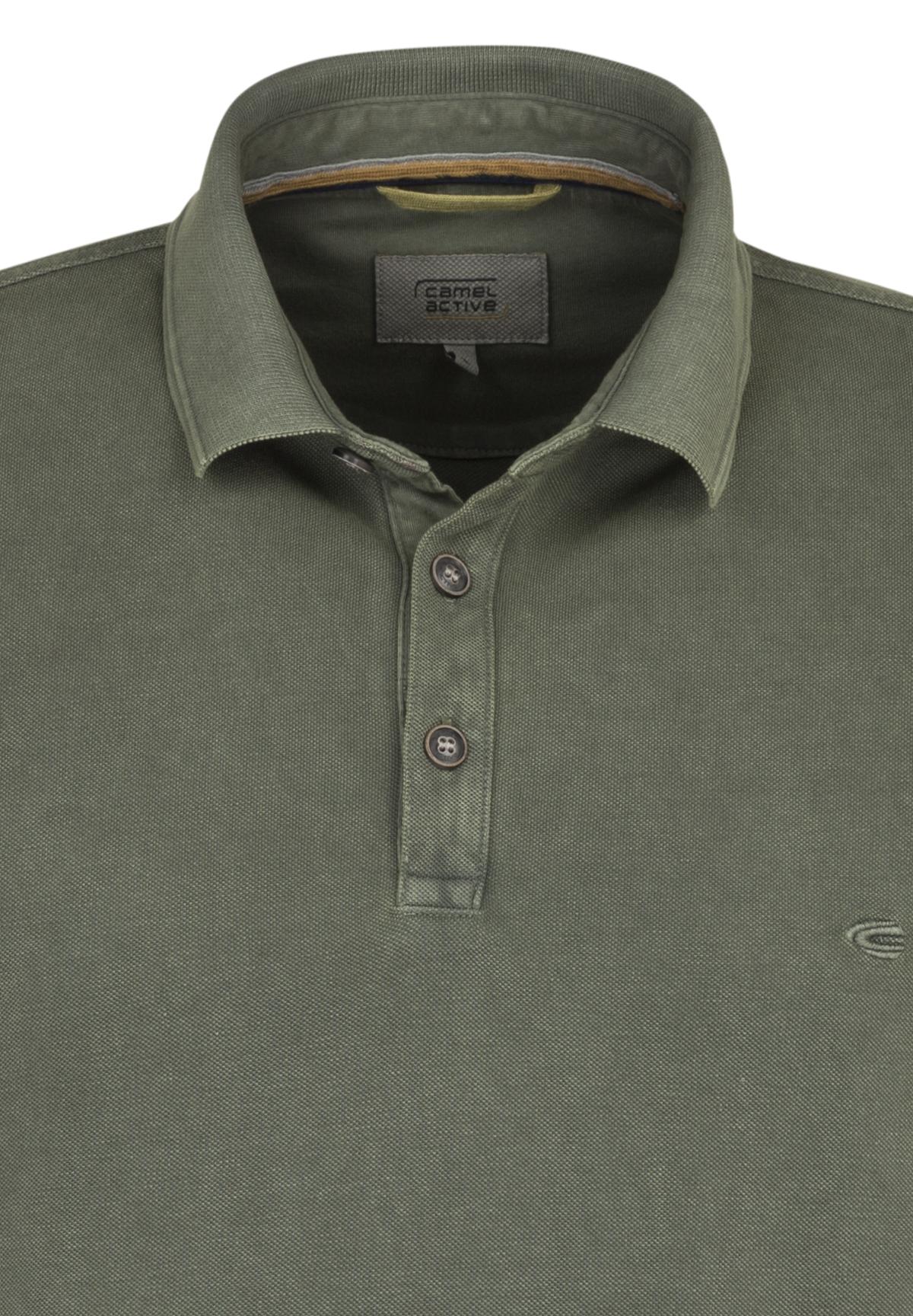Camel-Active-Herren-Shirt-Poloshirt-Pique-Regular-Fit-NEU Indexbild 80