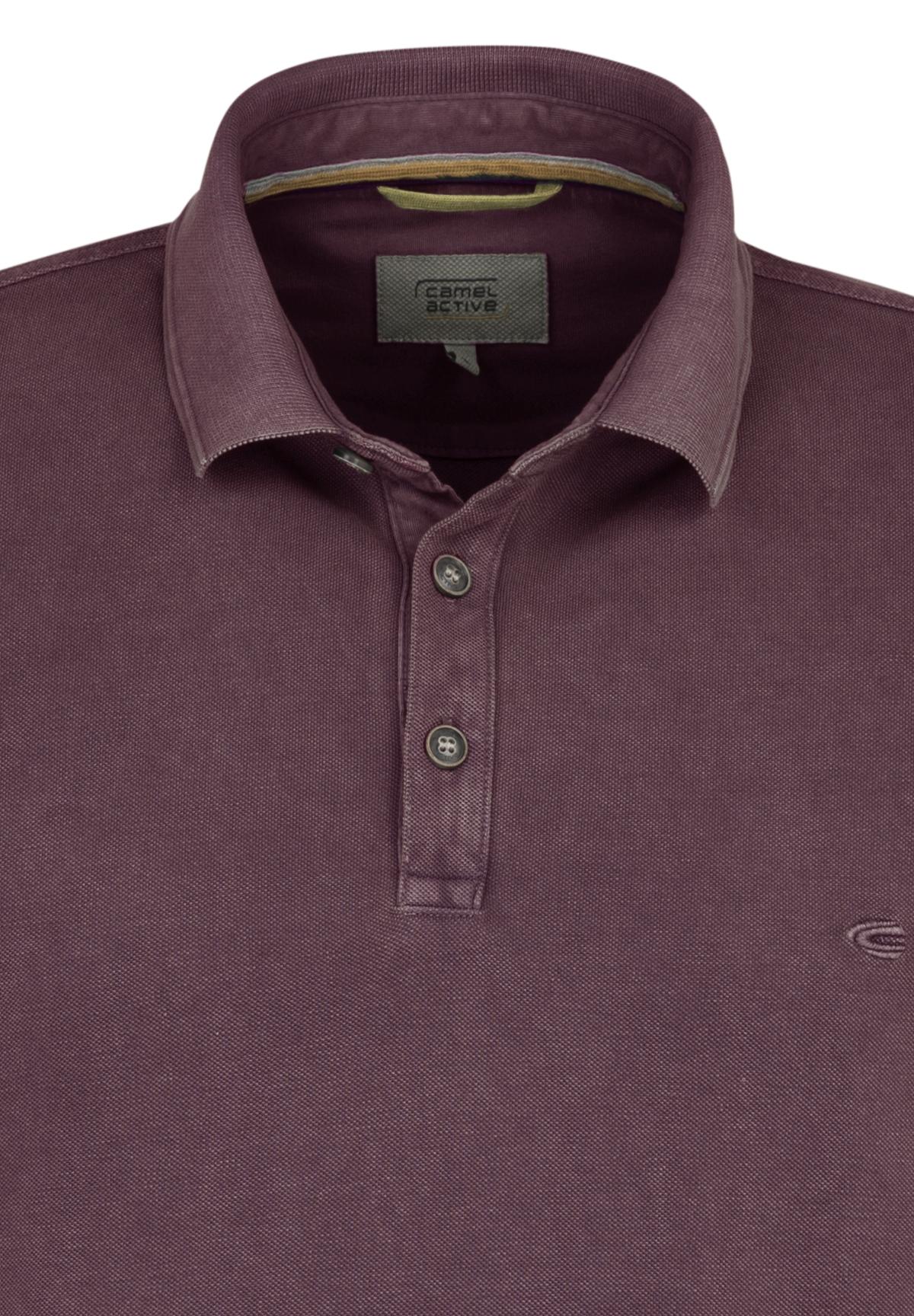 Camel-Active-Herren-Shirt-Poloshirt-Pique-Regular-Fit-NEU Indexbild 95