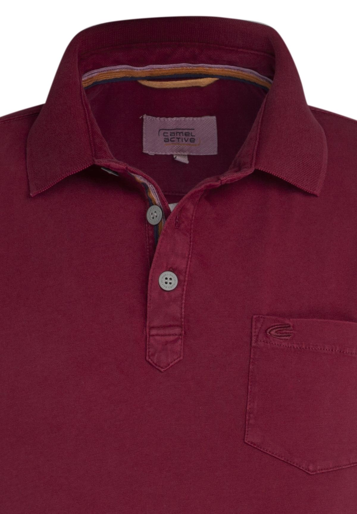 Camel-Active-Herren-Shirt-Poloshirt-Pique-Regular-Fit-NEU Indexbild 60