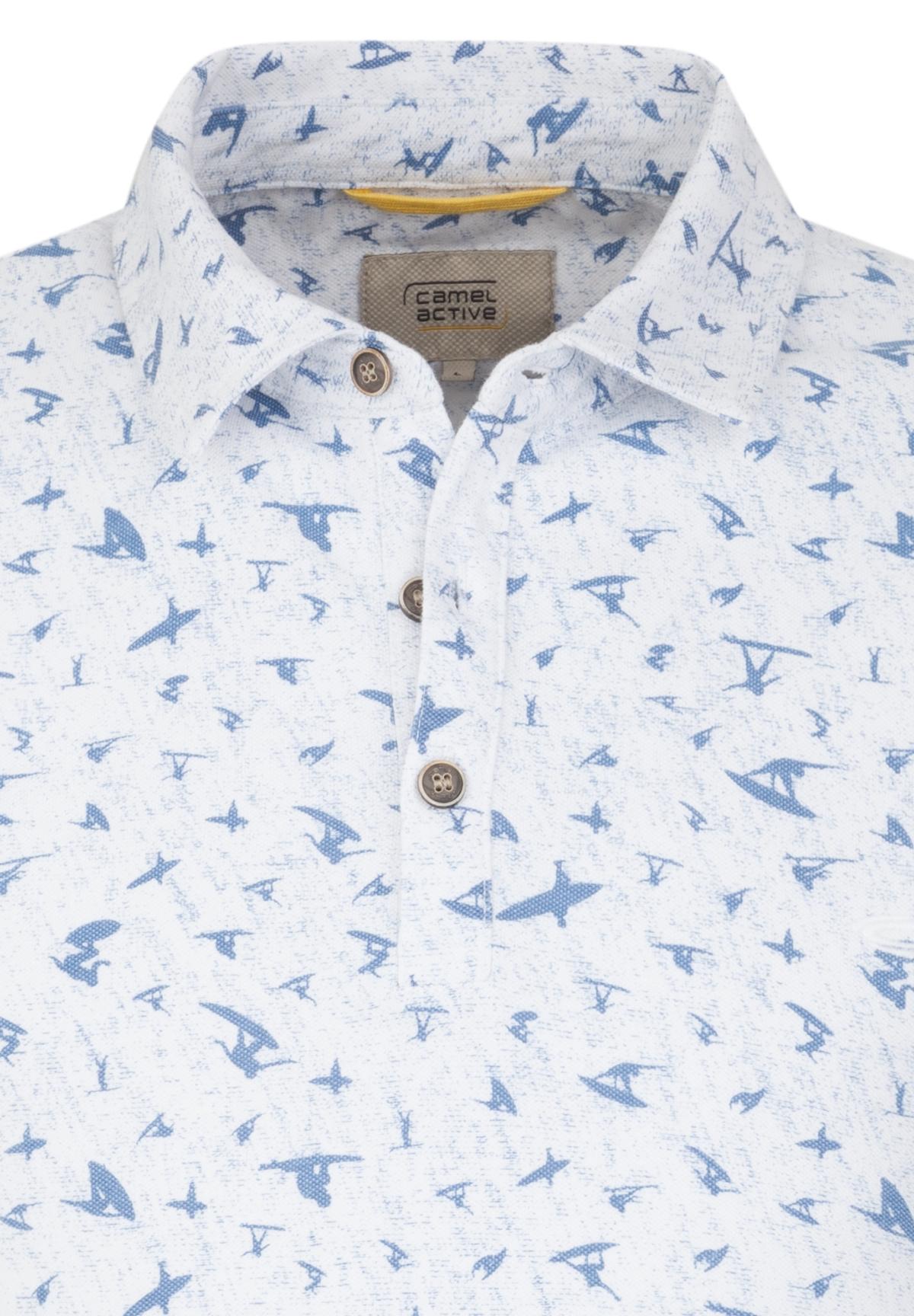 Camel-Active-Herren-Shirt-Poloshirt-Pique-Regular-Fit-NEU Indexbild 10