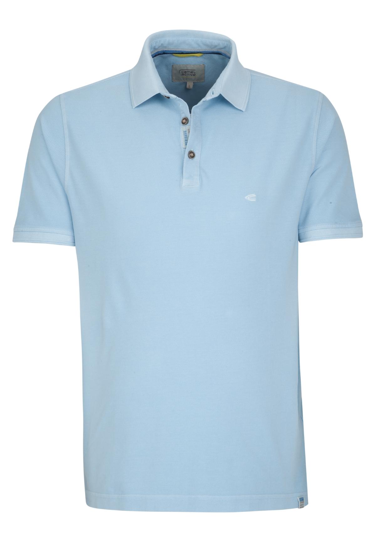 Camel-Active-Herren-Shirt-Poloshirt-Pique-Regular-Fit-NEU Indexbild 12