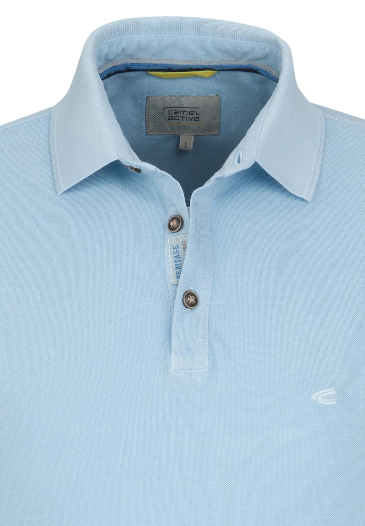 Camel-Active-Herren-Shirt-Poloshirt-Pique-Regular-Fit-NEU Indexbild 15