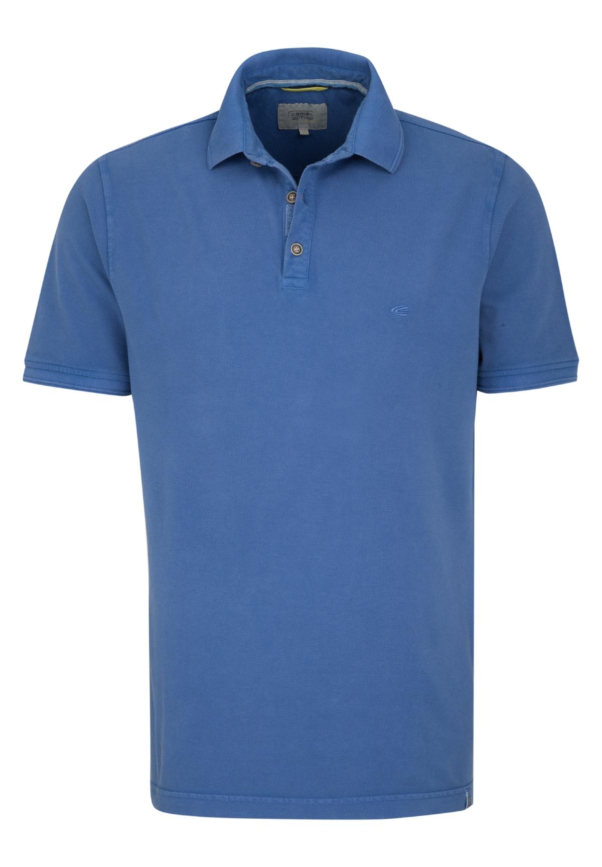 Camel-Active-Herren-Shirt-Poloshirt-Pique-Regular-Fit-NEU Indexbild 17