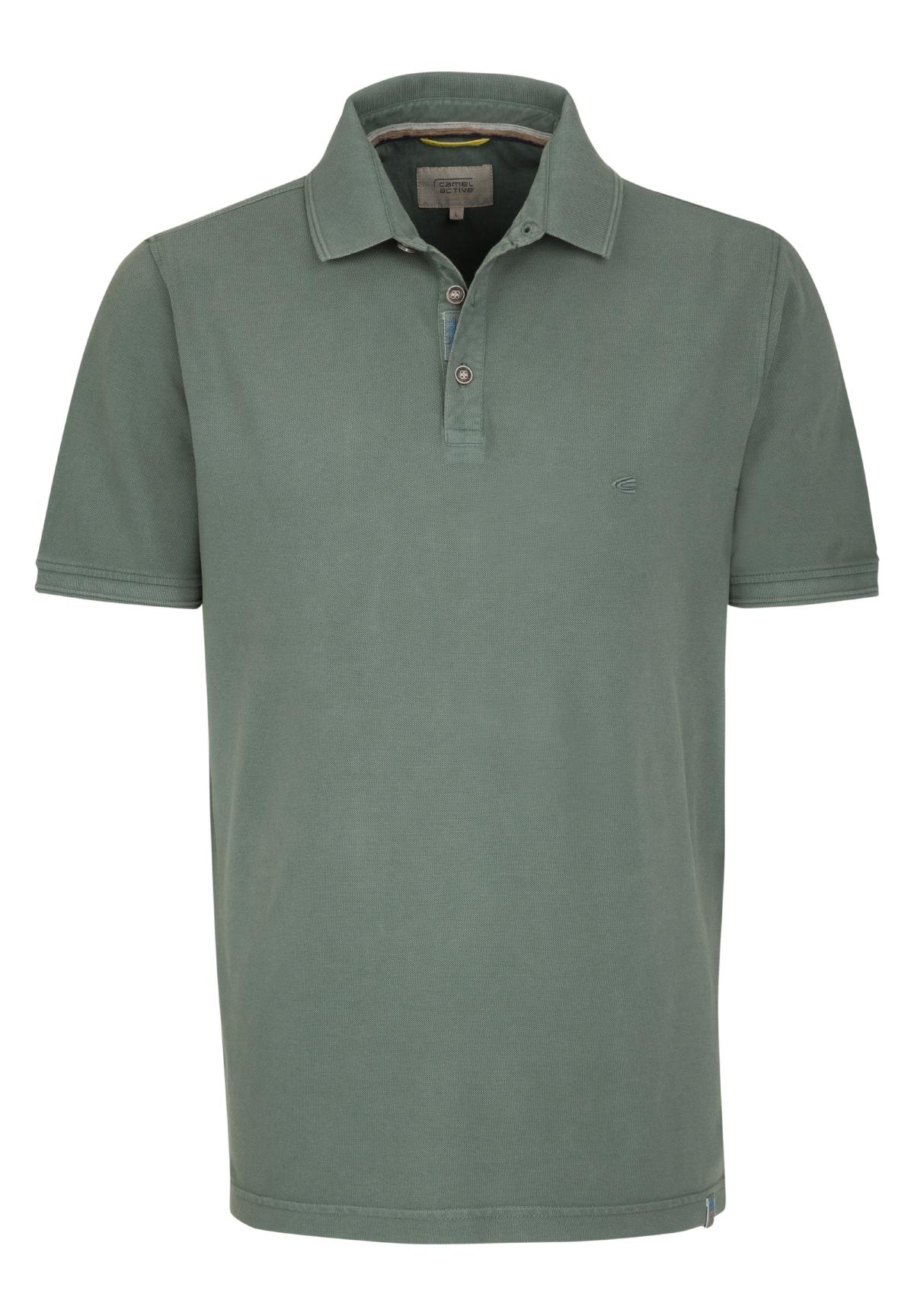 Camel-Active-Herren-Shirt-Poloshirt-Pique-Regular-Fit-NEU Indexbild 82