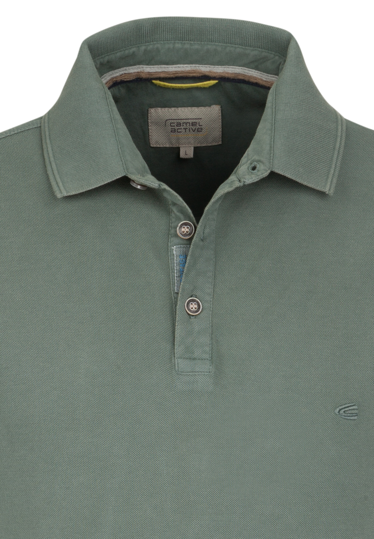 Camel-Active-Herren-Shirt-Poloshirt-Pique-Regular-Fit-NEU Indexbild 85