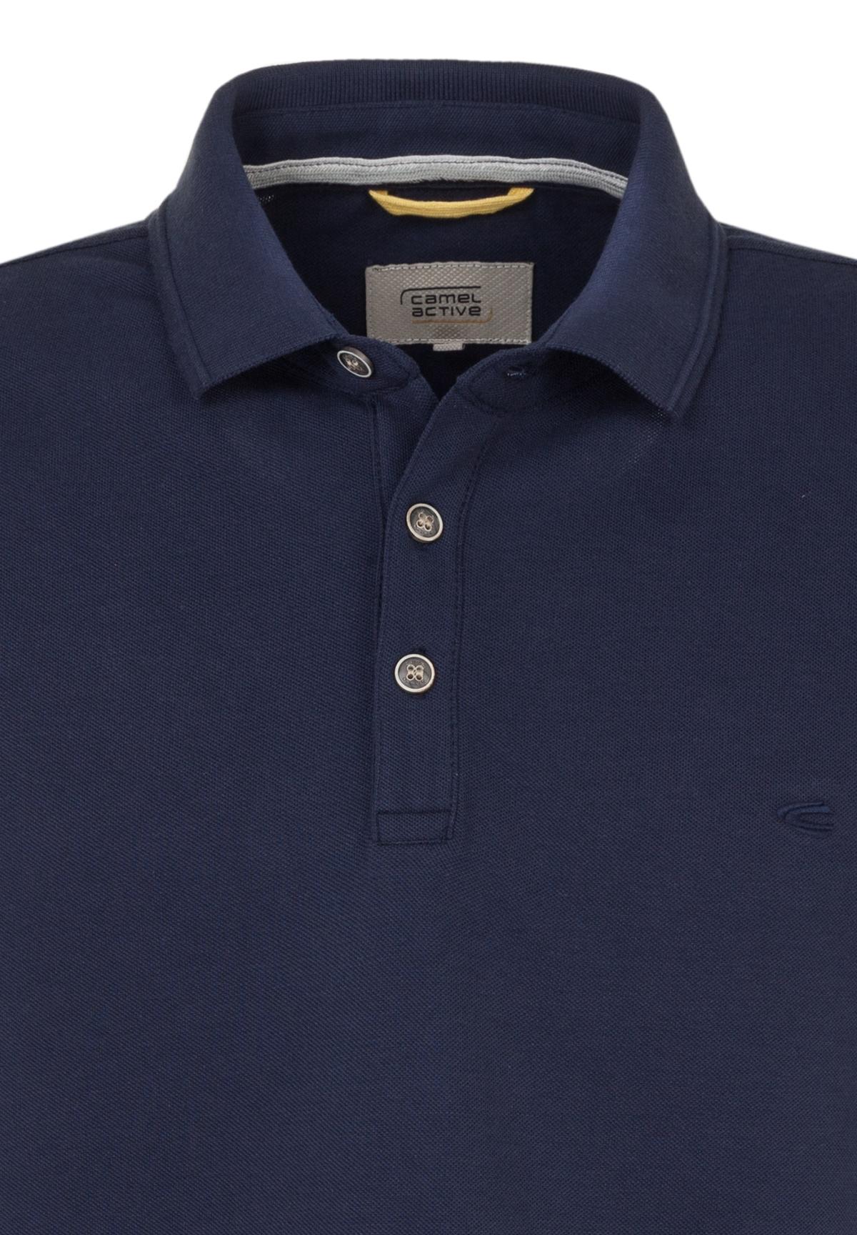 Camel-Active-Herren-Shirt-Poloshirt-Pique-Regular-Fit-NEU Indexbild 25