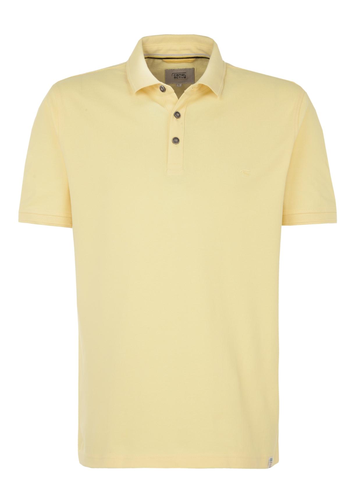 Camel-Active-Herren-Shirt-Poloshirt-Pique-Regular-Fit-NEU Indexbild 67