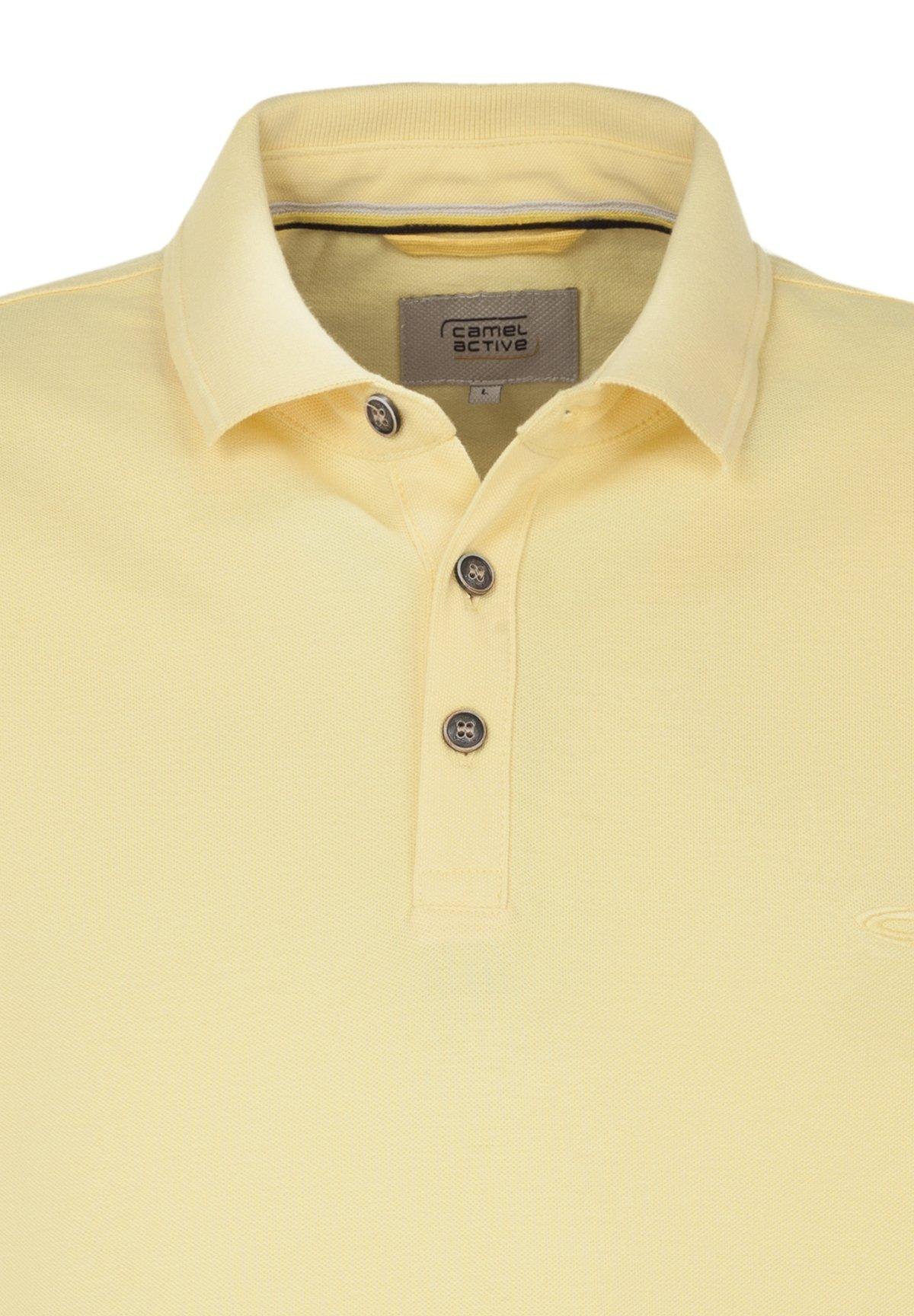 Camel-Active-Herren-Shirt-Poloshirt-Pique-Regular-Fit-NEU Indexbild 70
