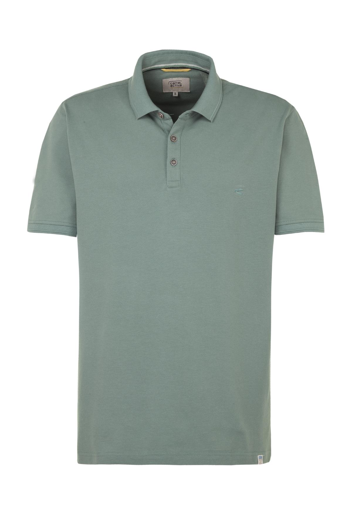 Camel-Active-Herren-Shirt-Poloshirt-Pique-Regular-Fit-NEU Indexbild 87