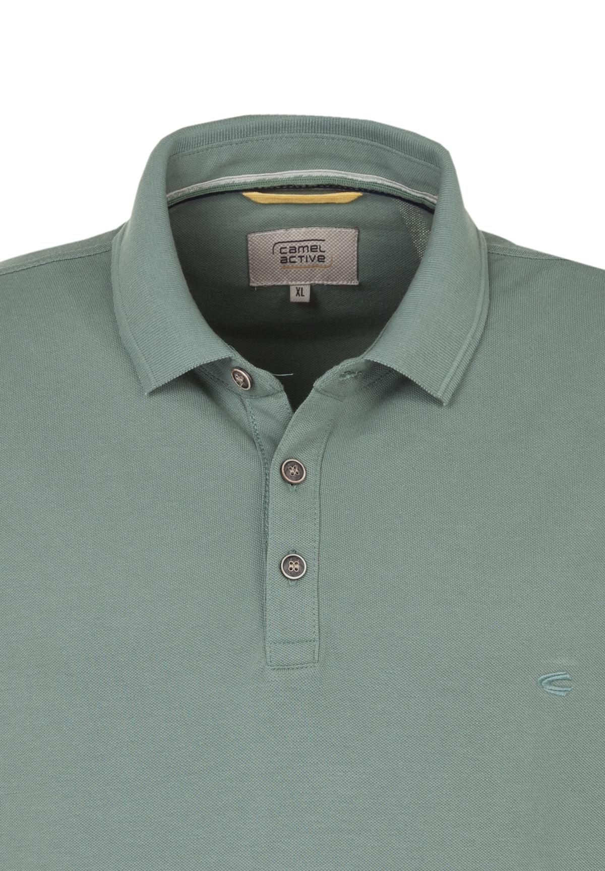Camel-Active-Herren-Shirt-Poloshirt-Pique-Regular-Fit-NEU Indexbild 90